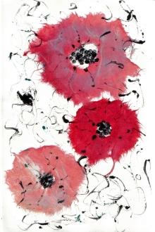 monotype Poppies